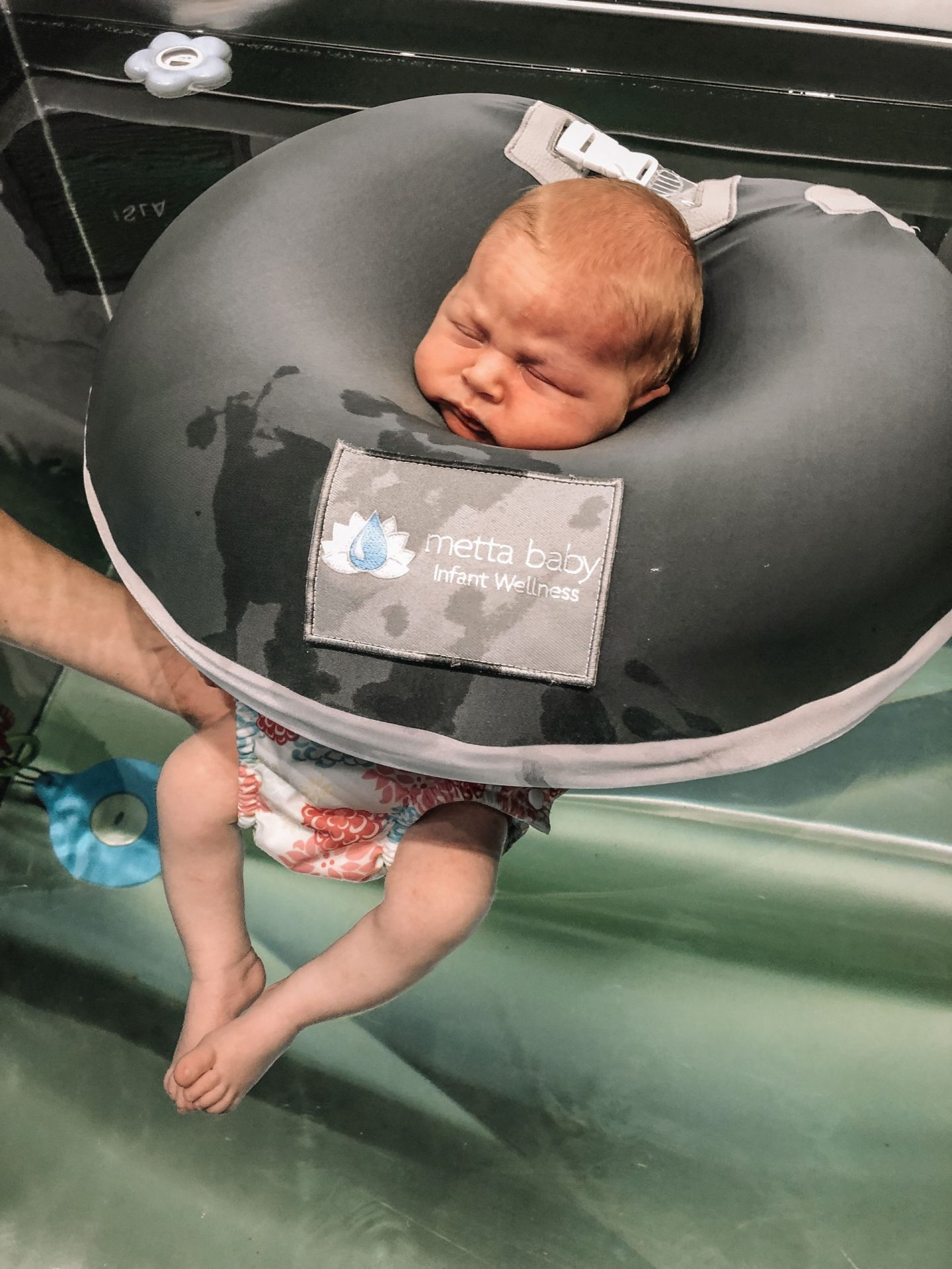 baby spa day: metta baby chicago