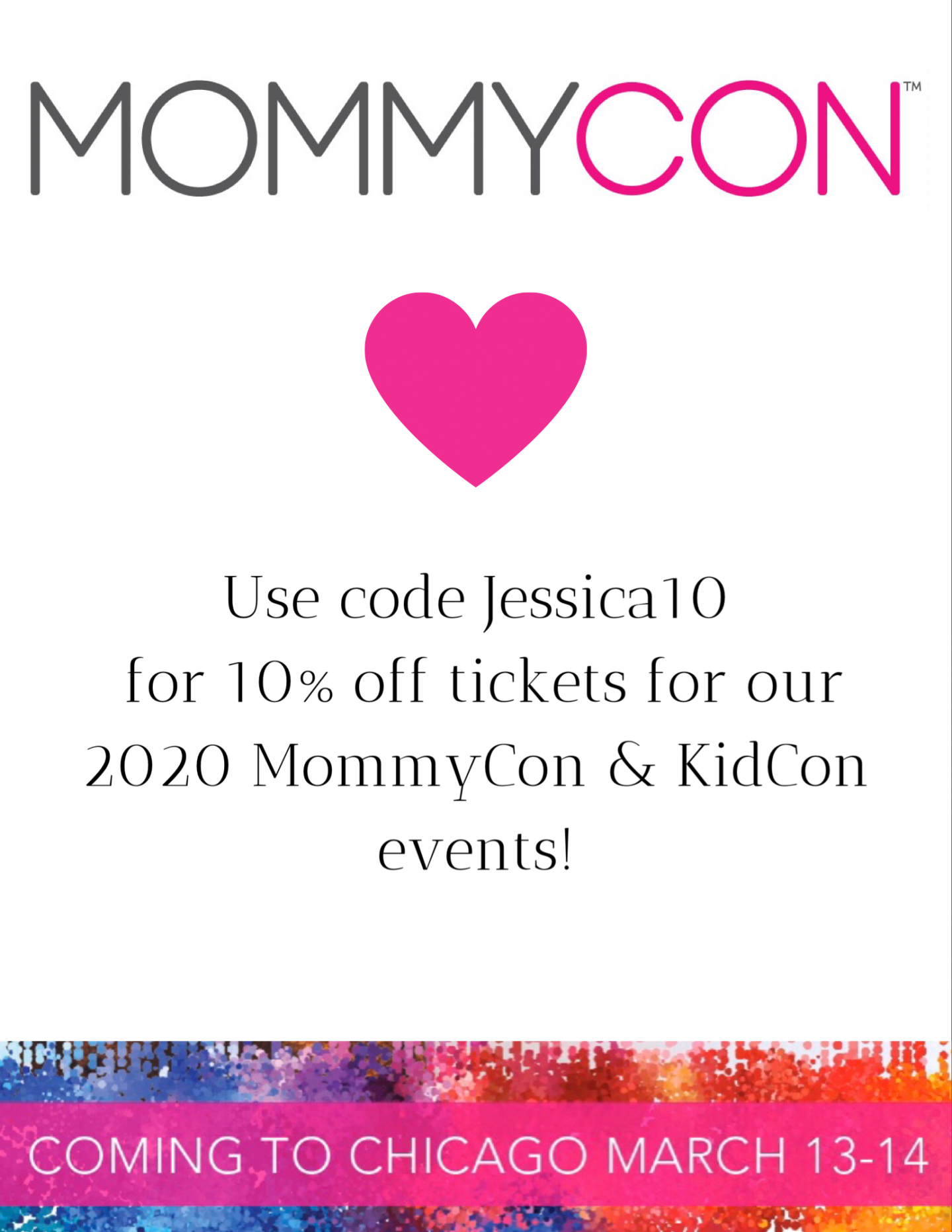 only one month left until Mommy Con