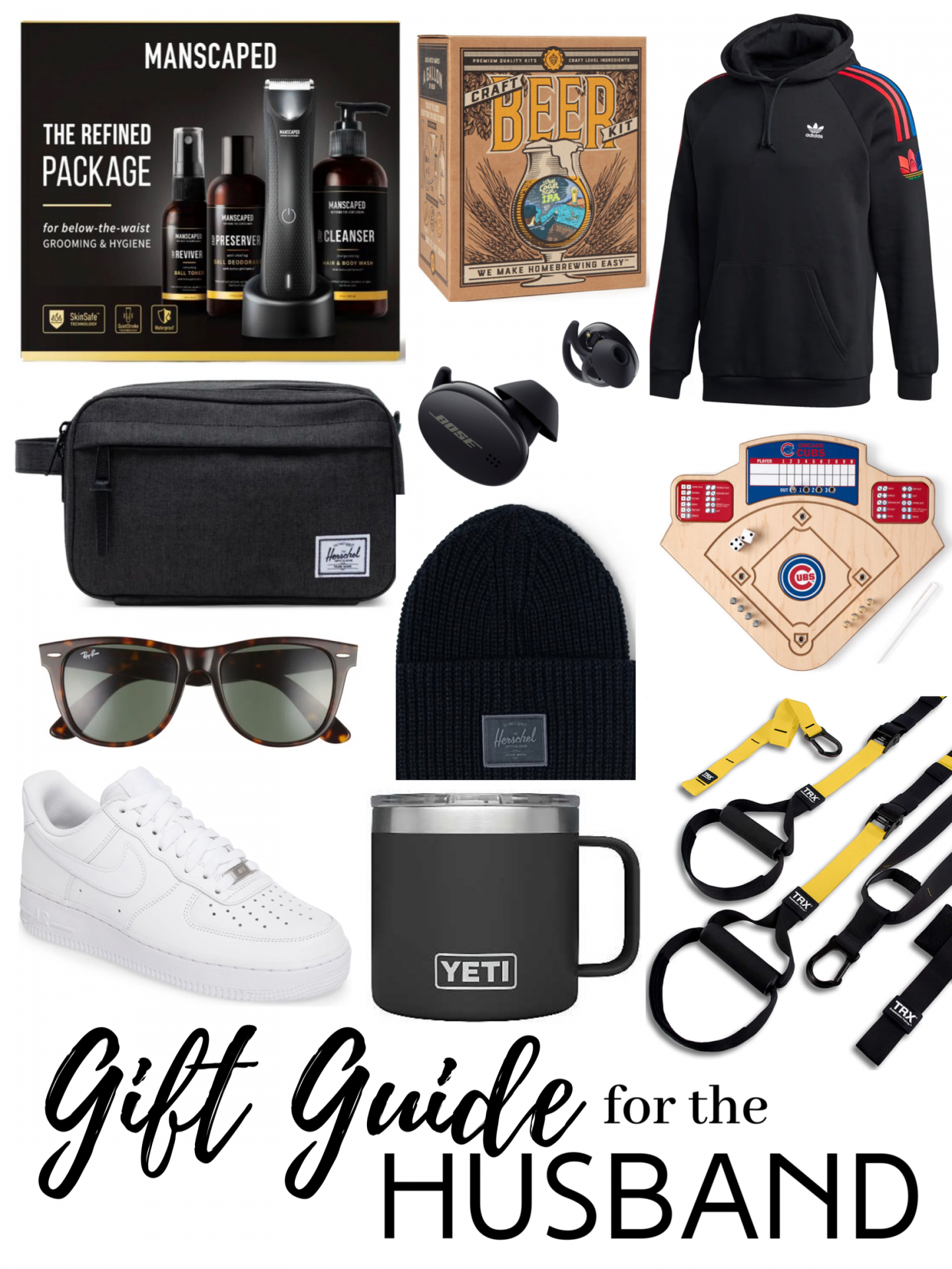 holiday gift guide for the: HUSBAND