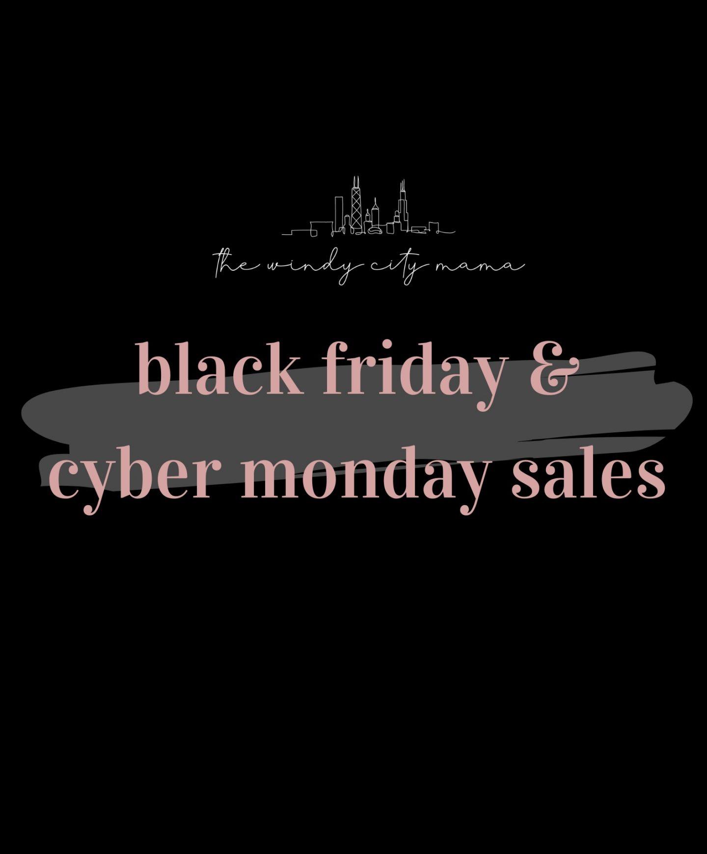 black friday & cyber monday sale round-up